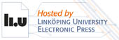 Hosted by Linköping University Electronic Press